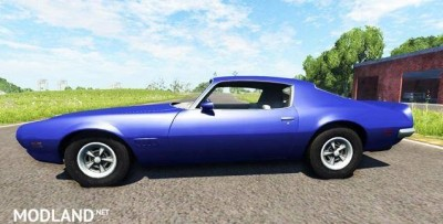 Pontiac Firebird 1970 Car Mod [0.7.0], 1 photo